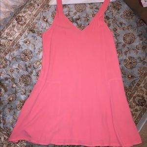 Beautiful Coral Sanctuary trapeze dress Worn once